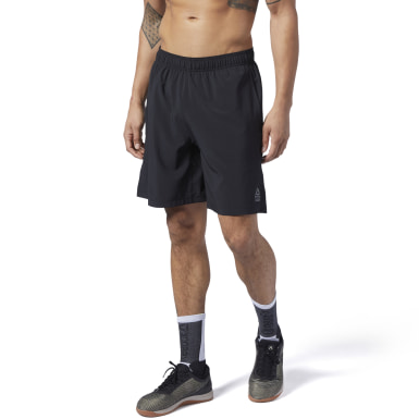 Mænd Cross Training Black Reebok CrossFit® Austin II Shorts