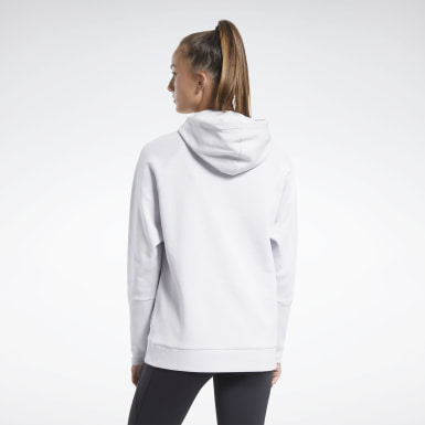 Felpa con cappuccio Quik Cotton Vector Bianco Donna Outdoor