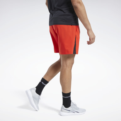 Heren Fitness & Training Rood Workout Ready Short