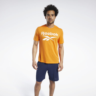 Herr Cykel Orange Workout Ready Supremium Graphic Tee