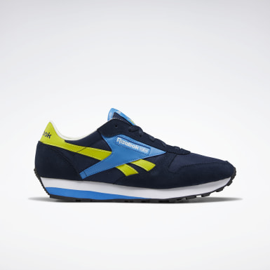 Classics Classic Leather AZ Shoes Blau