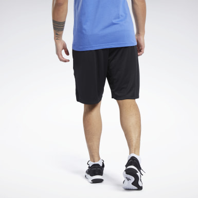 Männer Fitness & Training Knit Shorts Schwarz
