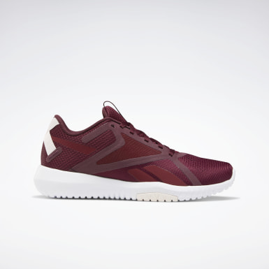 Women Fitness & Training Burgundy Reebok Flexagon Force 2 Shoes