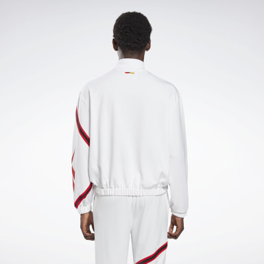 Classics White Reebok by Pyer Moss Mock Neck Track Shirt
