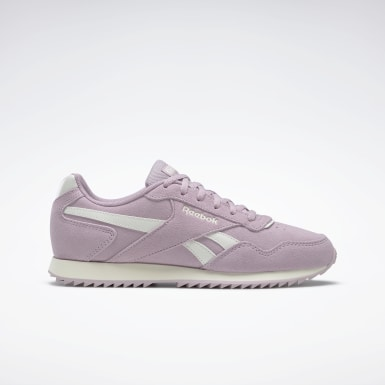 Frauen Classics Reebok Royal Glide Ripple Shoes Lila