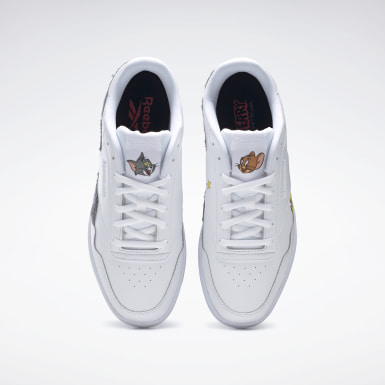 Men Classics White Tom and Jerry  Royal Techque T Shoes