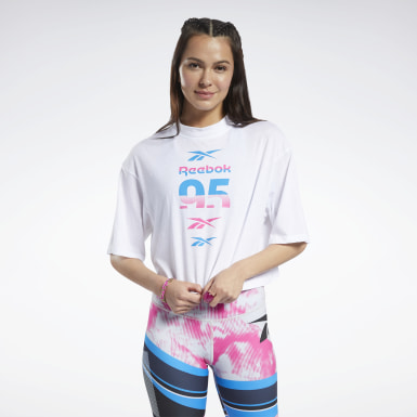 Women Fitness & Training White MYT Graphic Tee