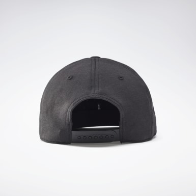 Fitness & Training Black Combat 6 Panel Cap
