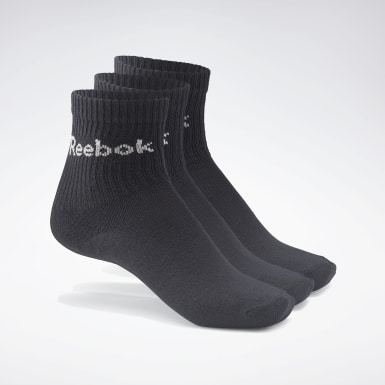 Fitness & Training Reebok Crew Sock – 3er-Pack Schwarz