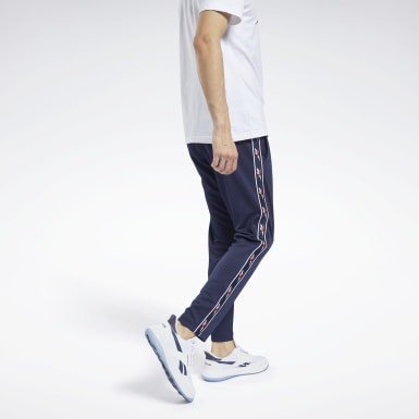 Men Classics Blue Classics Vector Tape Joggers