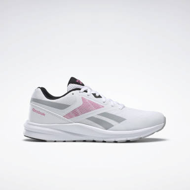 Women Running White Reebok Runner 4.0 Shoes