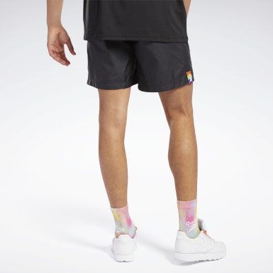 Lifestyle Black Pride Woven Lifestyle Shorts