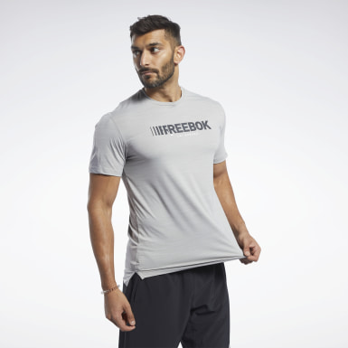 Men Hiking Grey ACTIVCHILL Move Tee