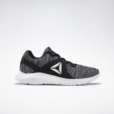 Men Running Black Reebok EnergyLux Shoes