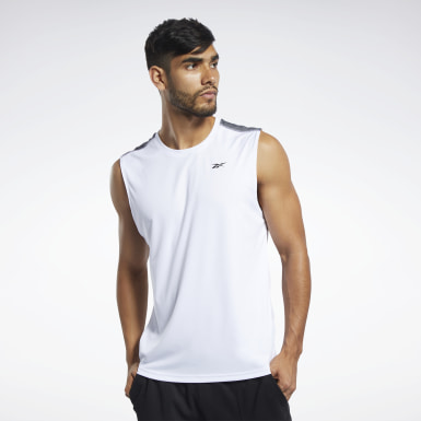 Heren Wandelsport Wit Workout Ready Tech T-shirt