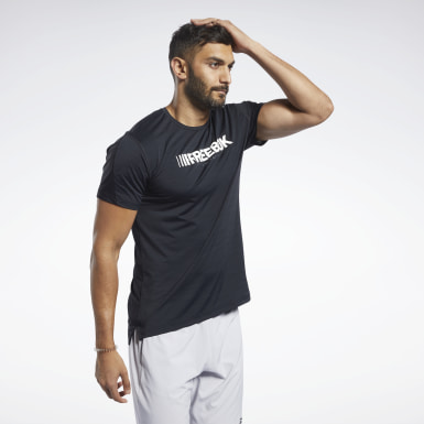 Heren Fitness & Training Zwart ACTIVCHILL Move T-shirt