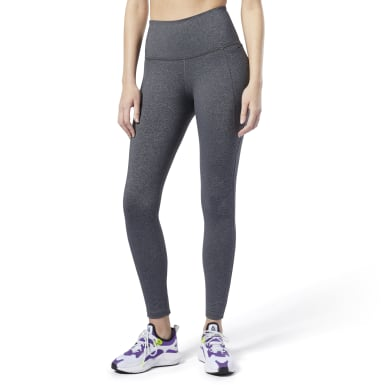Women Training Grey Reebok Lux High-Rise Tights 2.0