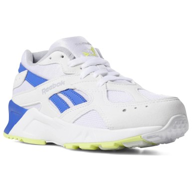 Boys Classics White Aztrek Shoes