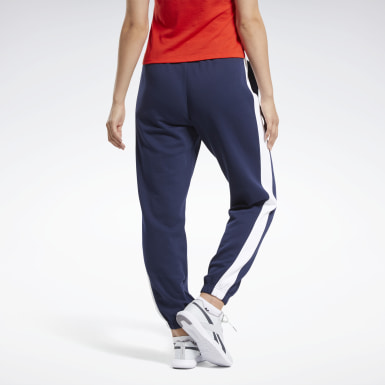 Kvinder Fitness & Training Blue Training Essentials Logo Pants