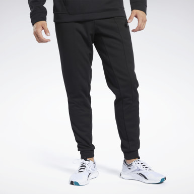 Men Yoga Black Workout Ready Joggers