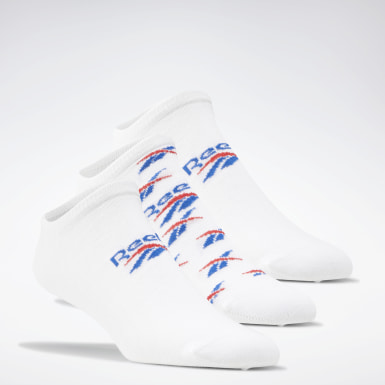 Calcetines invisibles Classics Foundation - 3 pares Blanco Classics