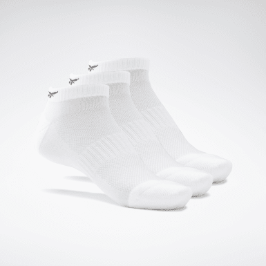 Chaussettes basses Active Foundation - 3 paires Blanc Fitness & Training