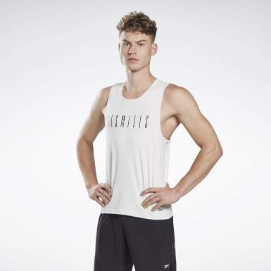 Mænd Cycling Grey LES MILLS® ACTIVCHILL Sleeveless Tee