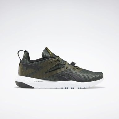 Men Training Green Mega Flexagon Men's Training Shoes
