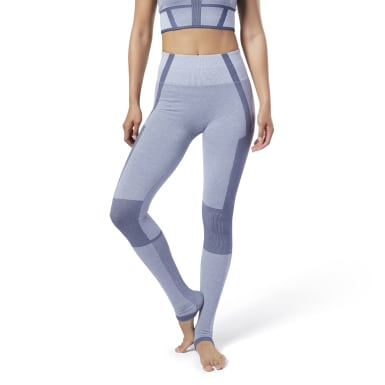 Women Studio Purple Nature X Seamless Leggings