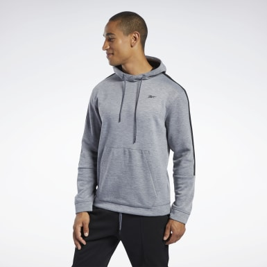 Männer Fitness & Training Workout Ready Hoodie Grau