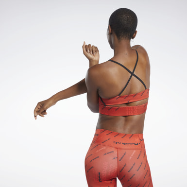 Dam Fitness & Träning Workout Ready Low-Impact Strappy Bra