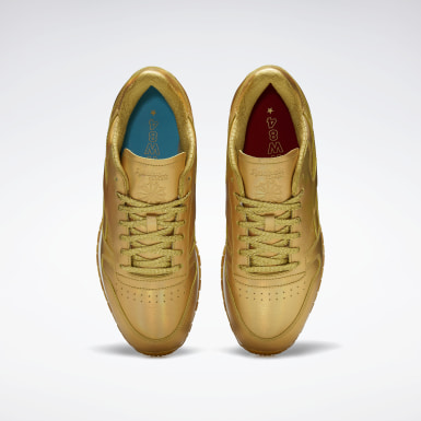 Classics Classic Leather Shoes Gold