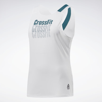 Camiseta sin mangas Reebok CrossFit® ACTIVCHILL Blanco Mujer Cross Training