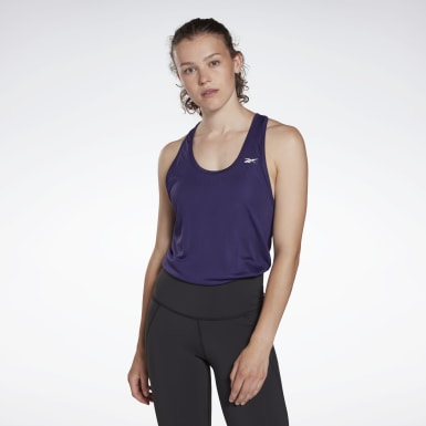 Women Yoga Mesh Back Tank Top