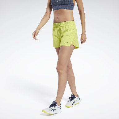 Women HIIT Yellow United By Fitness Epic Shorts