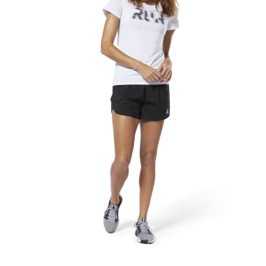 "Shorts Running Essentials - 4"" Negro Mujer Running"