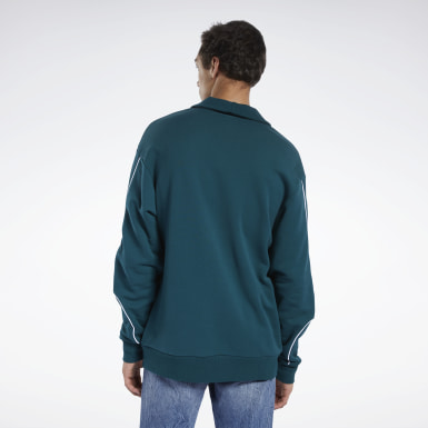 Men Classics Green Classics Sweatshirt