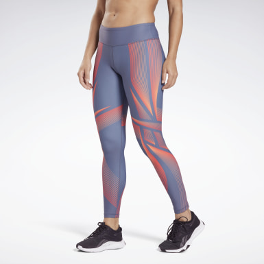 Tight Lux Bold High-Rise Warp Speed 2 Blu Donna Studio