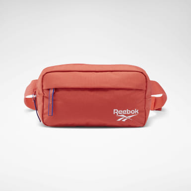 Classics Orange Classic Throwback Zippered Waistbag