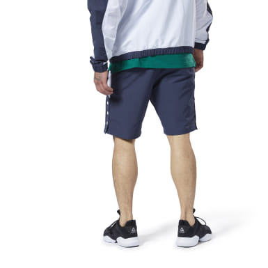 Men Fitness & Training Blue Meet You There Woven Shorts