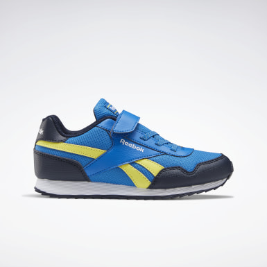 Boys Classics Blue Reebok Royal Classic Jogger 3 Shoes - Preschool