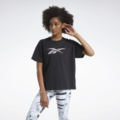 Women Cross Training Black Holiday Tee