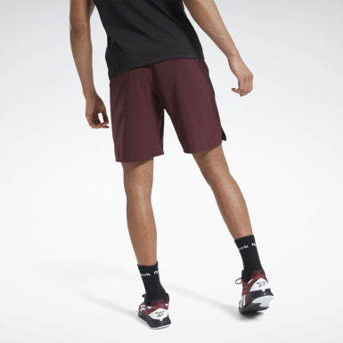 Men Training Burgundy Speedwick Speed Shorts