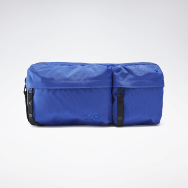 Women Fitness & Training Blue VB Crossbody Bag