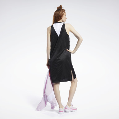 Frauen Fitness & Training Meet You There Basketball Dress Schwarz