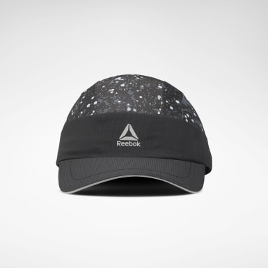 Gorra Running Graphic Performance Negro Running