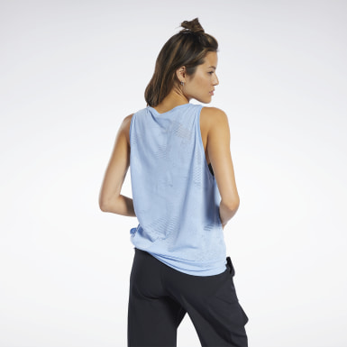 Dam Fitness & Träning Burnout Tank Top