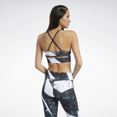 Top deportivo Workout Ready - Bajo impacto Negro Mujer Fitness & Training