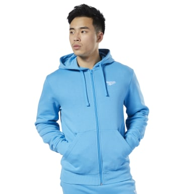Men Classics Blue Classics Fleece Sweatshirt