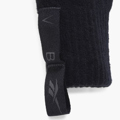 Women Classics Black Victoria Beckham Fingerless Gloves
